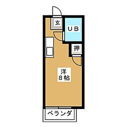 リゾットライブ[2階]の間取り