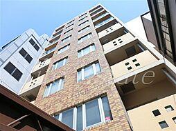 大阪府大阪市中央区博労町4-の賃貸マンションの外観