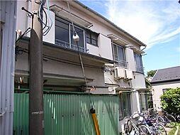 東京都新宿区弁天町の賃貸アパートの外観
