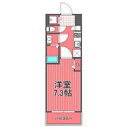 グランドガーラ新横浜サウス[4階]の間取り