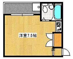 M2[3階]の間取り