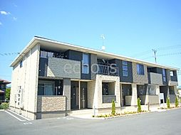 兵庫県篠山市北の賃貸アパートの外観