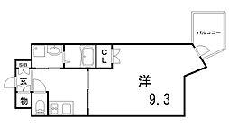 サンヴィレッジ布引[2階]の間取り