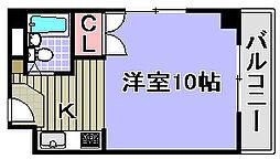 シーサイドパレス堺町[405号室]の間取り