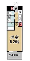 東京都北区志茂3丁目の賃貸マンションの間取り