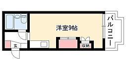 愛知県名古屋市名東区藤里町の賃貸マンションの間取り