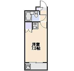 煉瓦館87[2階]の間取り