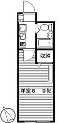 パークビュー高崎[206号室]の間取り