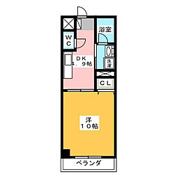 MIRAGE MARUNOUCHI[5階]の間取り