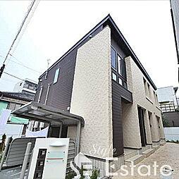 愛知県名古屋市熱田区青池町3丁目の賃貸アパートの外観