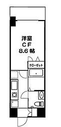ドミール五反野[3階]の間取り