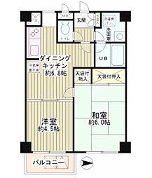 MSフォルム多摩川 bt[204kk号室]の間取り