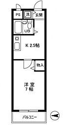 メインステージ五反野[4階]の間取り