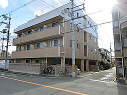 大阪府東大阪市西上小阪の賃貸マンションの外観