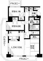 日神パレステージ板橋本町第6[12階]の間取り