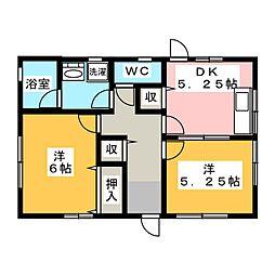 [一戸建] 静岡県浜松市西区馬郡町 の賃貸【/】の間取り