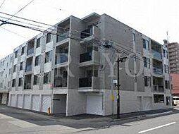 北海道札幌市豊平区美園九条2丁目の賃貸マンションの外観