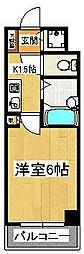 ルーラル六番館[803号室]の間取り