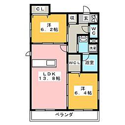 希 世 館[1階]の間取り