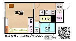 東京都町田市木曽東1丁目の賃貸アパートの間取り