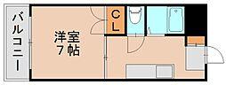 ロイヤルハイツ原田[2階]の間取り