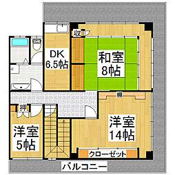 杉下マンション[3階]の間取り