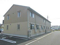 群馬県前橋市前箱田町の賃貸アパートの外観