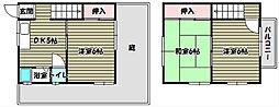 [テラスハウス] 大阪府大阪狭山市金剛2丁目 の賃貸【/】の間取り