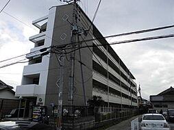 京都府京田辺市三山木直田の賃貸マンションの外観
