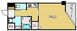 大阪府茨木市沢良宜浜1丁目の賃貸マンションの間取り