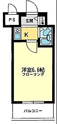 ライオンズマンション相模原第7[807号室]の間取り