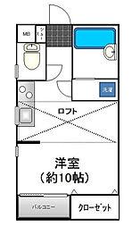 Owl's House(オウルズハウス)[1階]の間取り