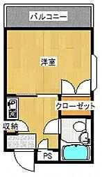 エトワール座間[2階]の間取り