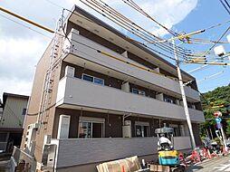 千葉県柏市南柏2の賃貸アパートの外観