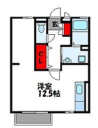 セジュールRY B棟[1階]の間取り
