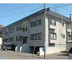 北海道札幌市東区北十三条東5丁目の賃貸アパートの外観