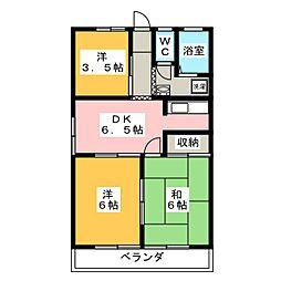 十和田湖ハイム[1階]の間取り