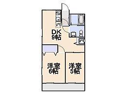 諌早第一ビル[2階]の間取り