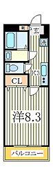 ボヌール柏の葉キャンパス[1階]の間取り