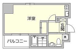アクアシティ大博通[3階]の間取り