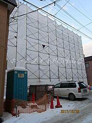 北海道札幌市中央区南十条西13の賃貸マンションの外観