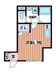 レゾナンス[1階]の間取り