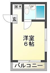 コーポサンフラワー[2階]の間取り