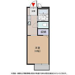KA'ULUMI(カウルミ)[207号室号室]の間取り