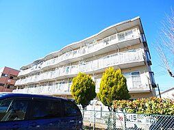 山崎マンション[3階]の外観