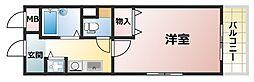 アビターレ六甲[4階]の間取り