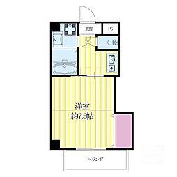 モアメゾンIII[2階]の間取り