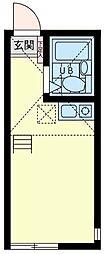 ユナイト戸部アンディ—ロード[1階]の間取り