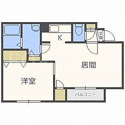 LOOM[1階]の間取り