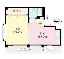 東信ビル[3階]の間取り